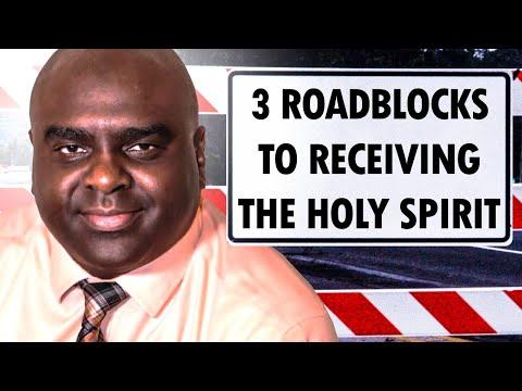 3 Roadblocks to RECEIVING the HOLY SPIRIT - Morning Prayer