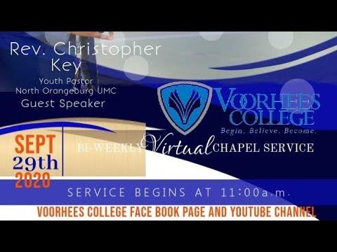 Voorhees College Chapel Serviec