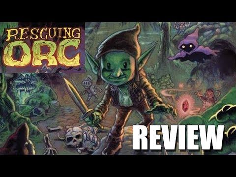 Rescuin Orc Commodore 64 Game by Reidrac