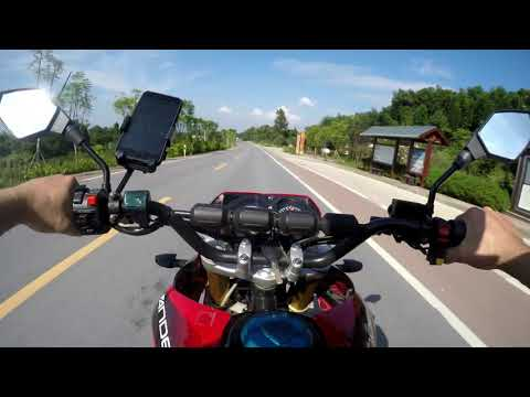 Denzel Liberty - Powerful Electric Touristic Motorcycle - Test-01