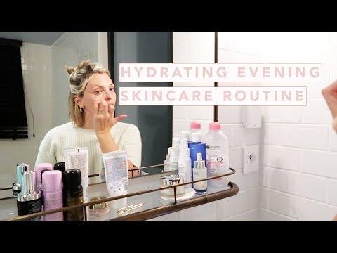 AD / HYDRATING EVENING SKINCARE ROUTINE | Estée Lalonde