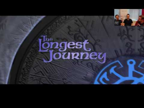 We streamed The Longest Journey with Red Thread Games
