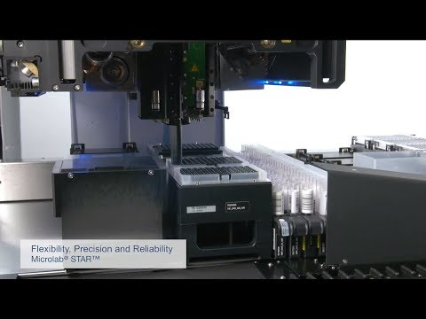 Hamilton Microlab® STAR - Flexibility, Precision, and Reliability