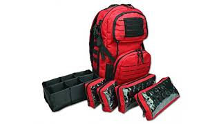 MUST View Outdoor/Hunting  REVIEW! Lightning X Premium Tactical Medic Backpack w/Modular Pouches..