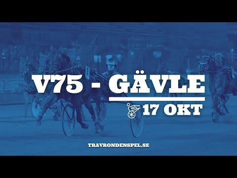 V75   Gävle   17 oktober