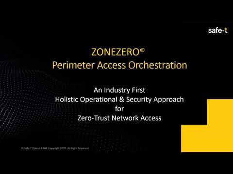 ZoneZero Perimeter Access Orchestration