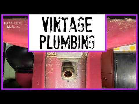 Vintage Plumbing I  Widespread Faucet Installation