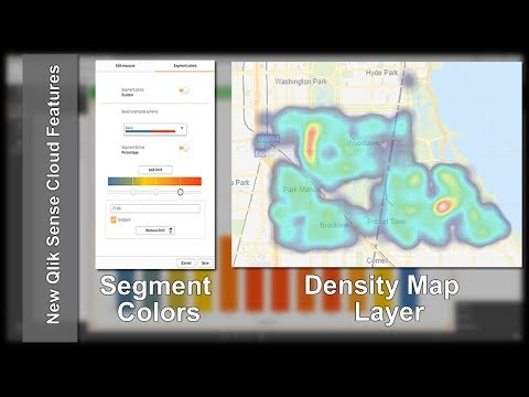 Segment Colors and Density Map Layer - New Features