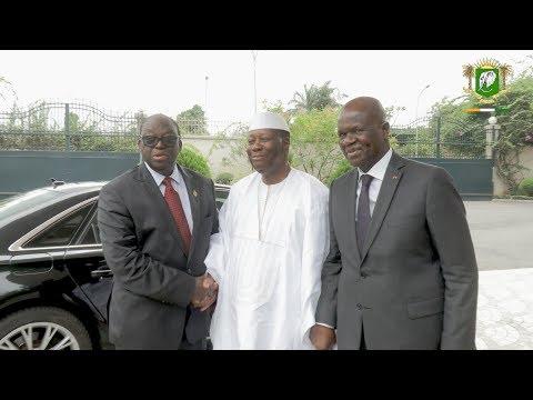 Entretien du Chef de l'Etat avec Moustapha Niasse, Président de l'Assemblée Nationale du Sénégal