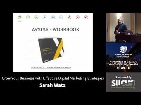 JWC 2016 - Grow Your Business with Effective Digital Marketing Strategies - Sarah Watz
