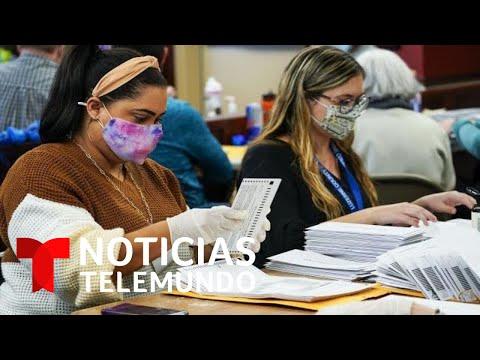 Lucha legal y conteo de votos en Pennsylvania   Noticias Telemundo