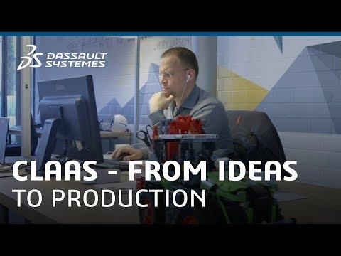 CLAAS - From Ideas to Production with the 3DEXPERIENCE Platform - Dassault Systèmes