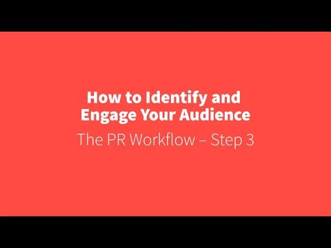 PR Academy - How to identify and engage your audience