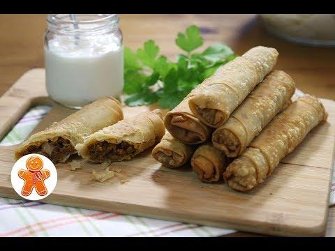 Слоеные Пирожки с Мясом ✧ Sigara Böreği