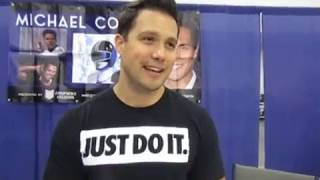 Actor Michael Copon Talks Rock Impersonation, Scorpion King, Football, DDP, Florida Supercon