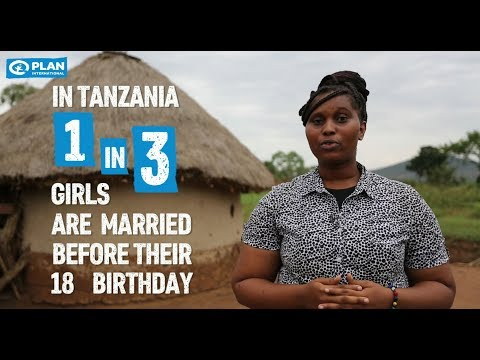 Say NO to child marriage in Tanzania
