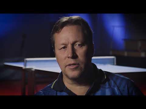 Jan-Ove Waldner intervju efter matchen mot Anna-Carin Ahlquist