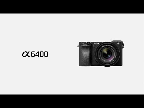 Sony α6400: Smart subject-tracking