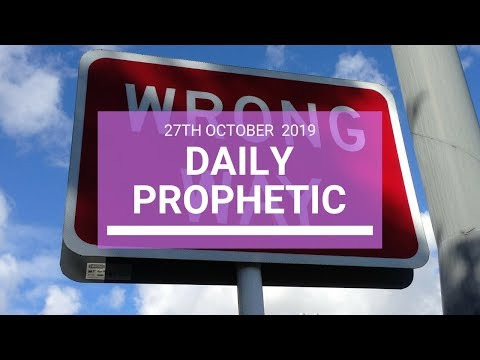 Daily Prophetic 27 October 2019 Word 4