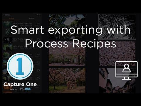 Smart Exporting | Tutorial | Capture One 12