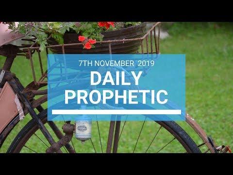 Daily Prophetic 7 November Word 1