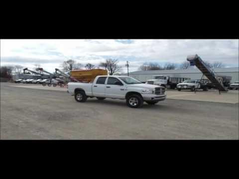 2008 Dodge Ram 2500 Quad Cab pickup truck for sale | no-reserve Internet auction March 1, 2017
