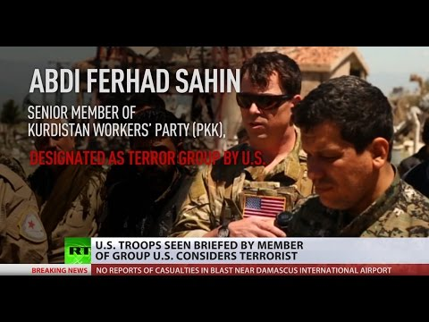 Friend or Foe? US Troops spotted with PKK fighters