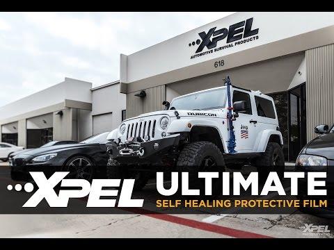 Jeep Wrangler Rubicon XPEL ULTIMATE Installation for Jeep Jamboree 2017