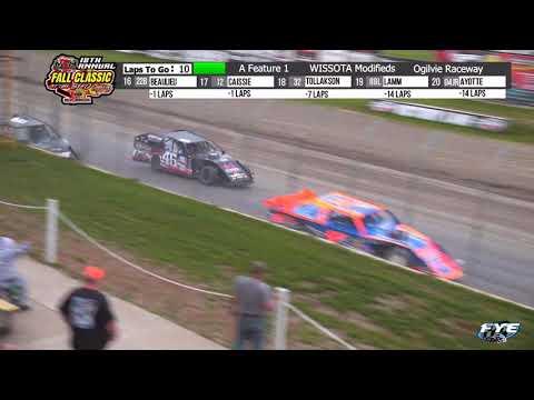 Ogilvie Raceway 10/9/21 WISSOTA Modified Final Laps - dirt track racing video image