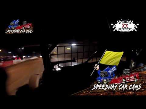 #00 Brock Elliott - 360 Sprint - 5-23-2021 Double X Speedway - In Car Camera - dirt track racing video image