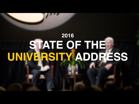 2016 State of the University