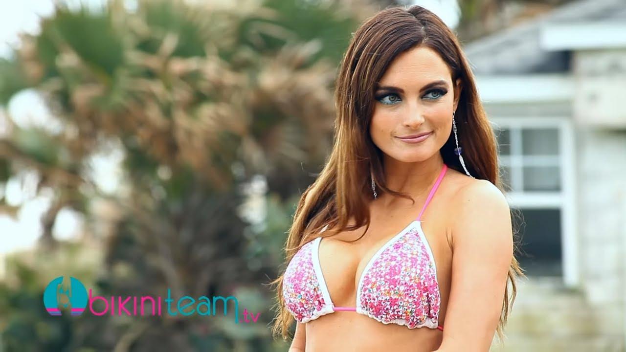 Heather Widle Video Bikini Model Photoshoot with Greg Hunter