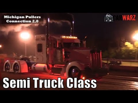 Semi Truck Class At TTPA In Carsonville MI Day 01 2018