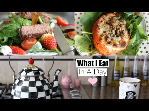 What I Eat In A Day 2016 Healthy Lunch & Dinner Ideas MissLizHeart - UCS0pvfQZhy8qYG7Bhg51h7Q