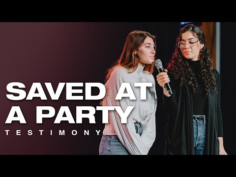 SAVED at a PARTY  - Life Changed after Holy Spirit Encounter!