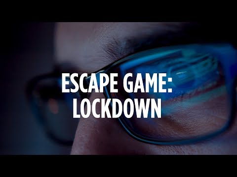 Escape Game Lockdown   Team Building Game