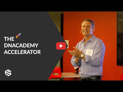 The DNAcademy Accelerator Announcement