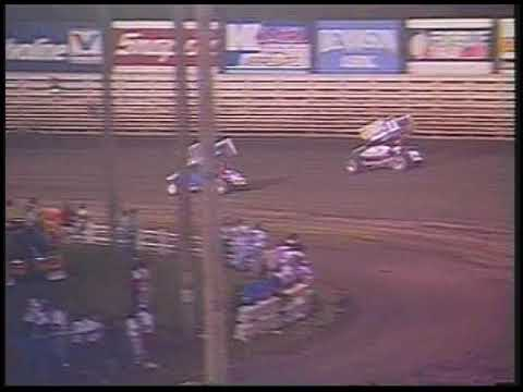 Danny Lasoski wins the inverted main event in the Valvoline Classic! - dirt track racing video image