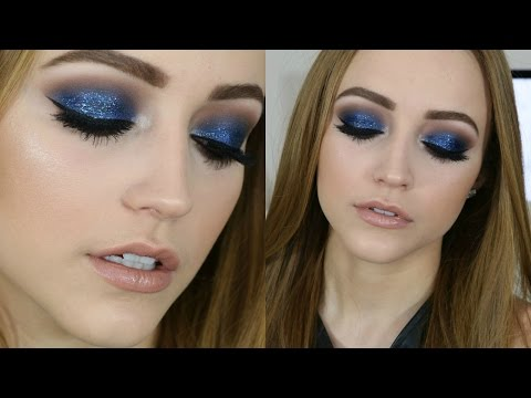 Glittery New Year's Eve Makeup Tutorial