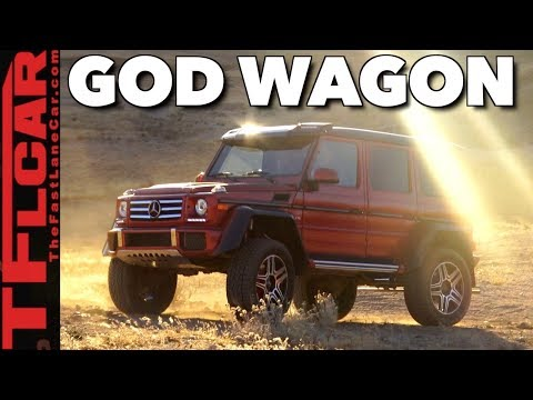Here's Why the G550 4x4 Squared Is The Most Amazing Mercedes-Benz Of All!