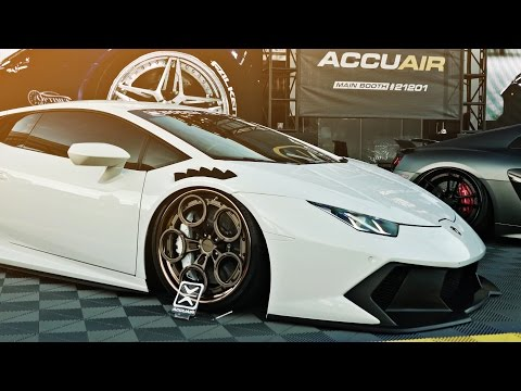 AccuAir x Rotiform Royal Flush Booth | SEMA 2016