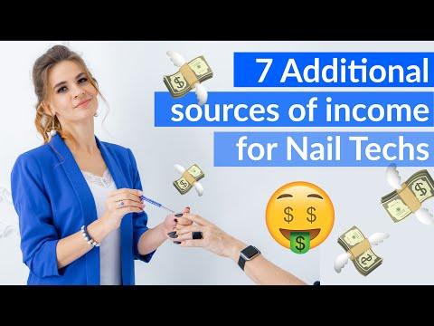 7 Ways to earn more MONEY while being a Nail Tech