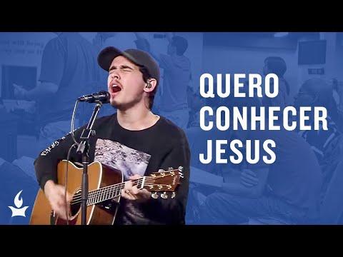Quero Conhecer Jesus (Alessandro Vilas Boas) -- The Prayer Room Live Moment