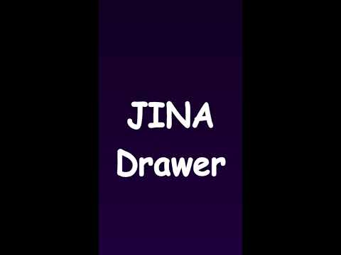JINA: App Drawer, Sidebar & Folder Organizer 3 3 0b1213