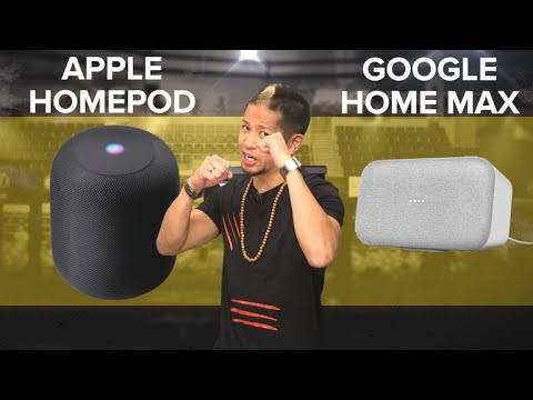 Apple HomePod vs. Google Home Max (Prizefight) - UCOmcA3f_RrH6b9NmcNa4tdg