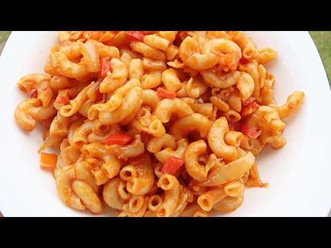 How To Prepare Macroni Pasta With Kidney Meat Ft.Milaneza Pasta.