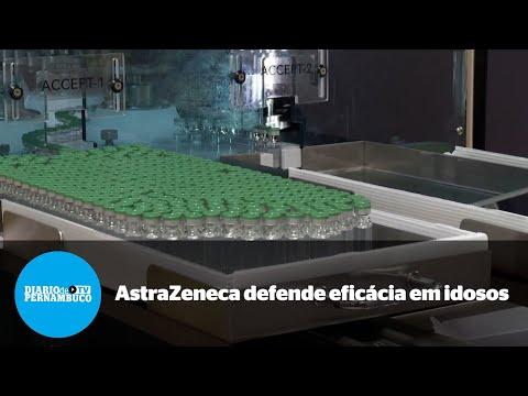 AstraZeneca defende eficácia em idosos depois de questionamentos