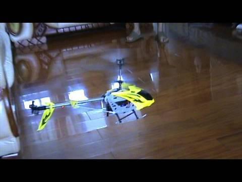Syma S031 Indoor Maiden Flight Test - UCsFctXdFnbeoKpLefdEloEQ