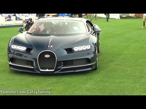 Monterey Car Week Day 4 - Bugatti Chiron, Hypercars, AMG GTR, LFA Nur and more!