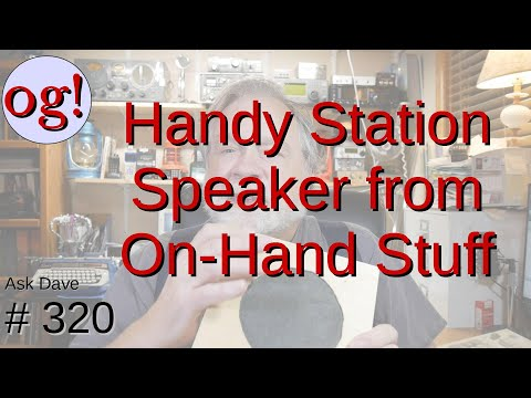 A Station Speaker from On-Hand Stuff (#320)